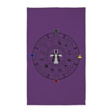 Wheel of the Year Zodiac Sabbats 3'x5' Area Rug