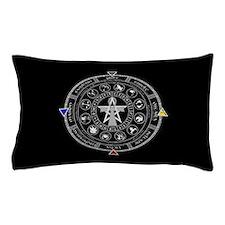 Wheel of the Year Zodiac Sabbats Pillow Case