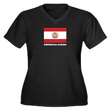 French Polynesia - Polynesie Francaise Plus Size T