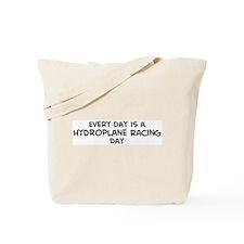 Hydroplane Racing day Tote Bag