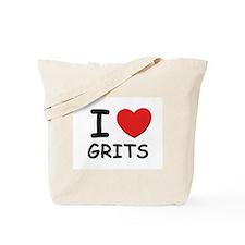 I love grits Tote Bag
