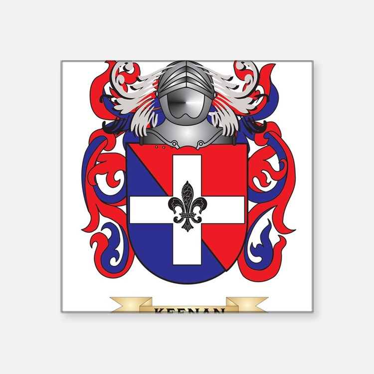 Keenan Coat of Arms (Family Crest) Sticker