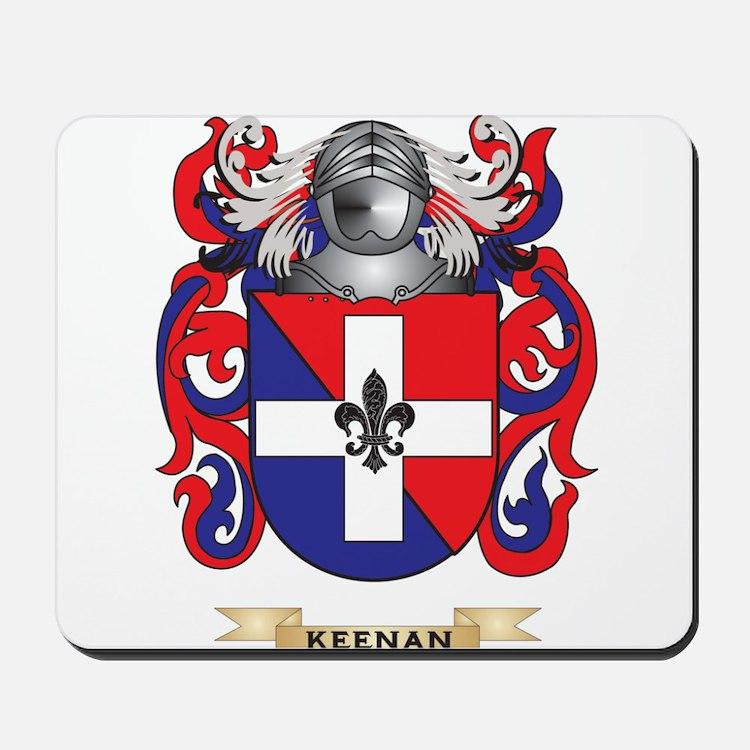 Keenan Coat of Arms (Family Crest) Mousepad