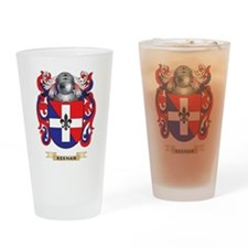 Keenan Coat of Arms (Family Crest) Drinking Glass