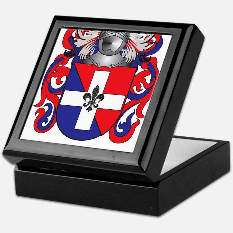 Keenan Coat of Arms (Family Crest) Keepsake Box