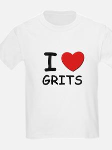 I love grits Kids T-Shirt