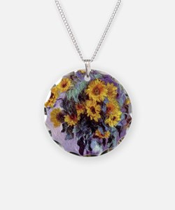 Bouquet of Sunflowers by Cla Necklace