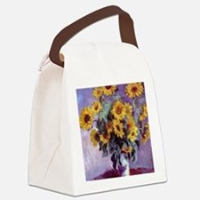 Bouquet of Sunflowers by Claude M Canvas Lunch Bag