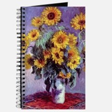 Bouquet of Sunflowers by Claude Monet Journal