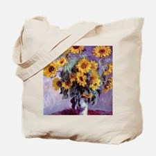 Bouquet of Sunflowers by Claude Monet Tote Bag