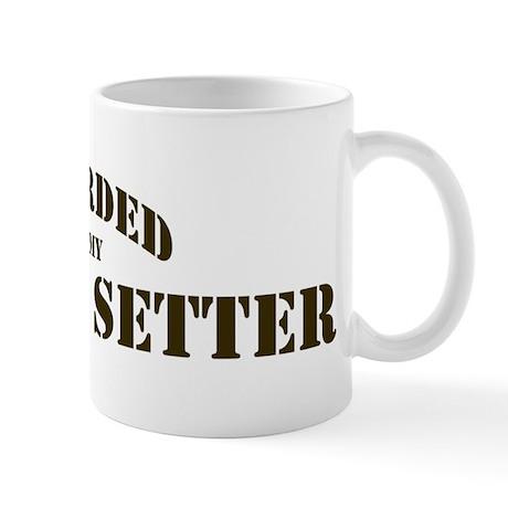 Gordon Setter: Guarded by Mug