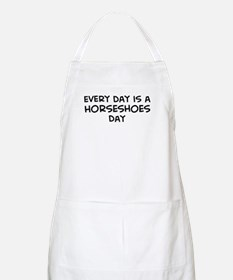 Horseshoes day BBQ Apron
