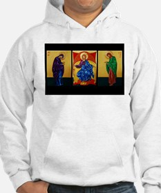 Triptych of Christ Enthroned Hoodie