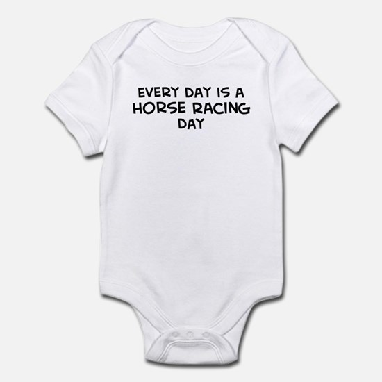 Horse Racing day Infant Bodysuit