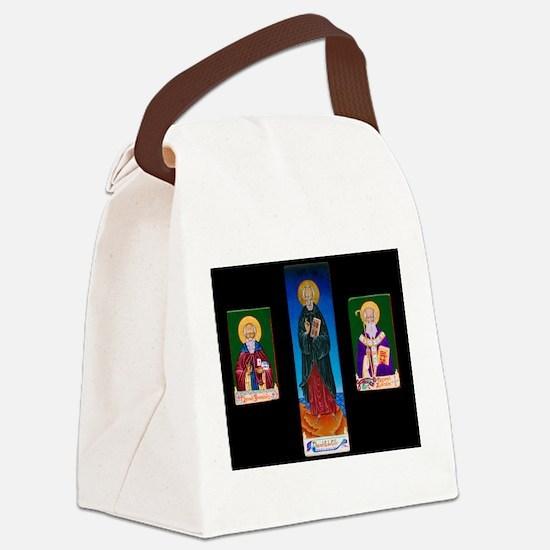 Celtic Triptych Canvas Lunch Bag