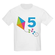 5th Birthday Kite T-Shirt