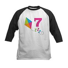 7th Birthday Kite Number 7 Tee