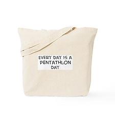 Pentathlon day Tote Bag