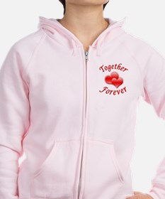 Together Forever Zip Hoodie