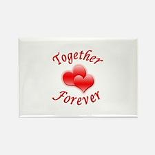 Together Forever Rectangle Magnet