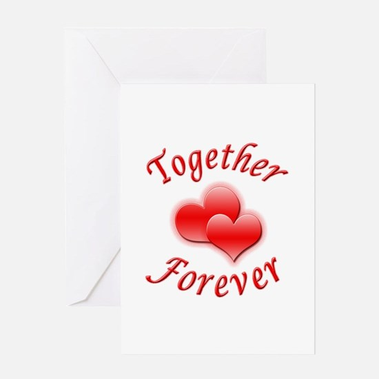 Together Forever Greeting Card
