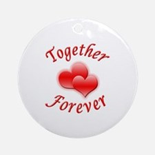 Together Forever Ornament (Round)