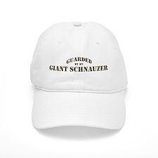 Giant Schnauzer: Guarded by Baseball Cap