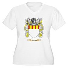 Keith Coat of Arms (Family Crest) Plus Size T-Shir