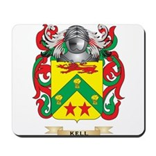 Kell Coat of Arms (Family Crest) Mousepad