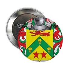 "Kell Coat of Arms (Family Crest) 2.25"" Button"