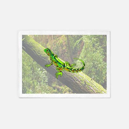 Lizard 5'x7'Area Rug