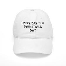 Paintball day Baseball Cap