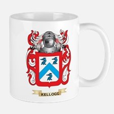 Kellogg Coat of Arms (Family Crest) Small Mugs