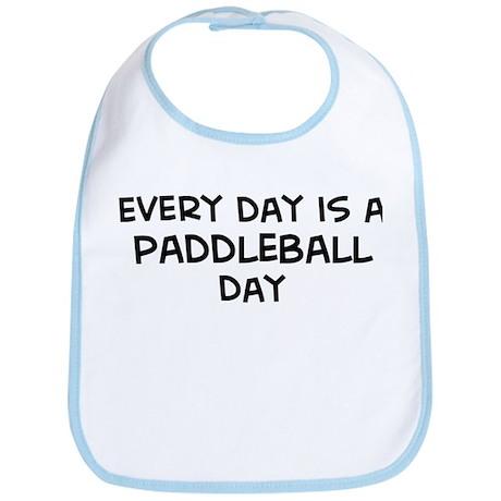 Paddleball day Bib