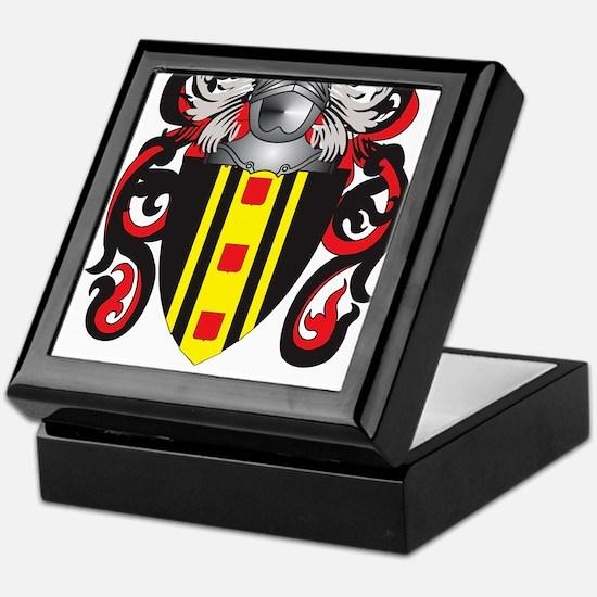 Kelsey Coat of Arms (Family Crest) Keepsake Box