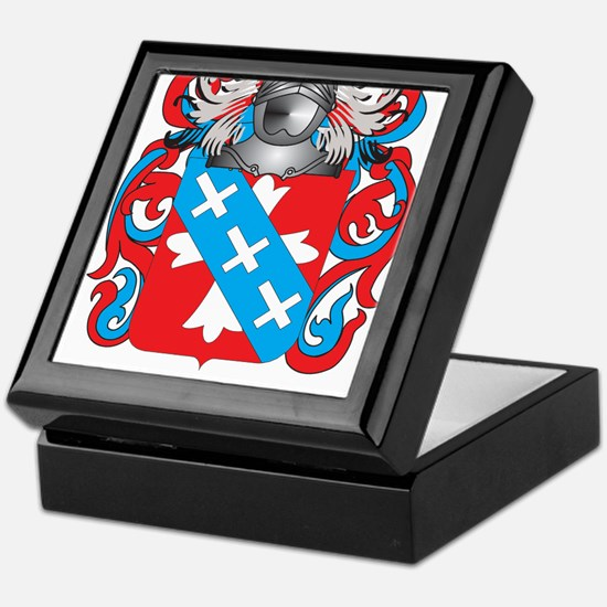 Kelsey-2 Coat of Arms (Family Crest) Keepsake Box