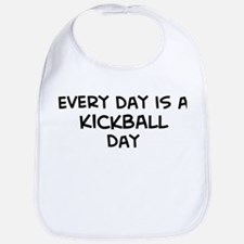 Kickball day Bib