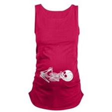 Baby Skeleton Maternity Tank Top