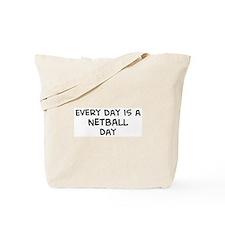 Netball day Tote Bag