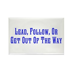 Get Out Of Way Magnet w/ Inspire Cliche
