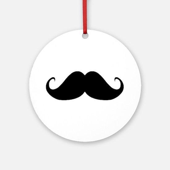 Mustach Ornament (Round)