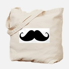 Mustach Tote Bag