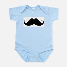 Mustach Infant Bodysuit