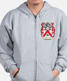 Kennedy-(Scottish) Coat of Arms (Family Crest) Zip Hoodie