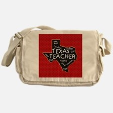 Texas Teacher Messenger Bag