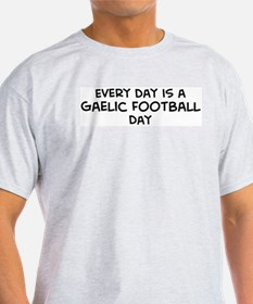 Gaelic Football day Ash Grey T-Shirt