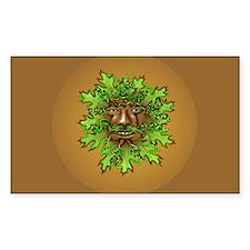 Greenman Decal