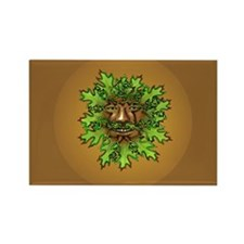 Greenman Rectangle Magnet