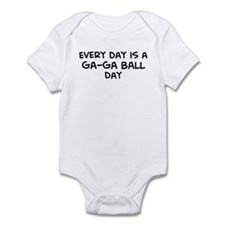 Ga-Ga Ball day Infant Bodysuit