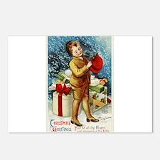 Vintage 1900s Christmas Greetings Postcards (Packa